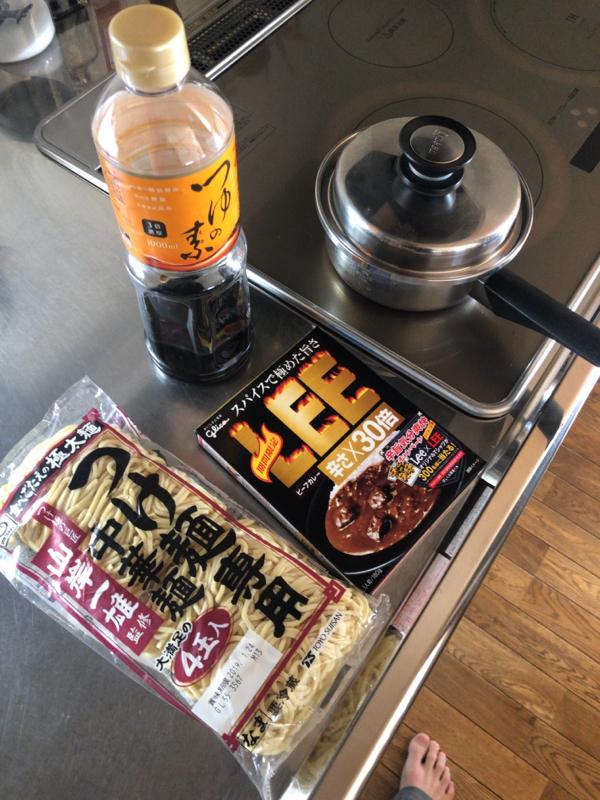 【画像有】カレー麺作ろうね
