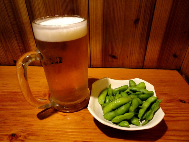 ビールに一番合うつまみって結局枝豆だよな?