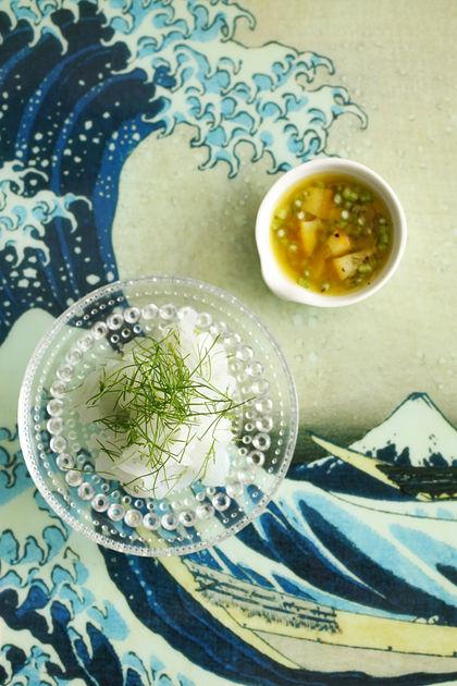 アオリイカとフェンネルの塩レモンマリネ(トップ)