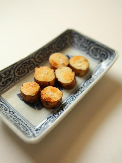 自然薯ソテー(全景)