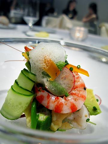 ランベリー:前菜1海の恵み