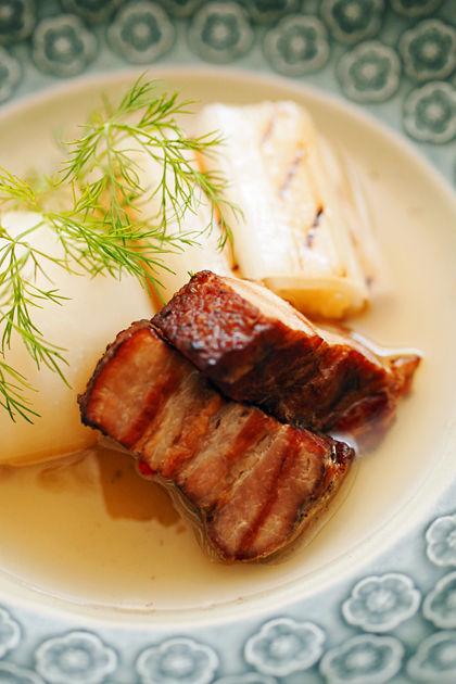 手作りベーコンと根菜のポトフ:アップ
