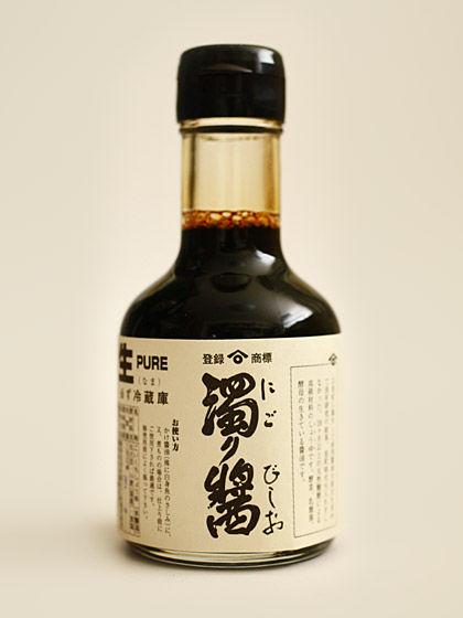 """""""角長""""濁り醤:小瓶"""