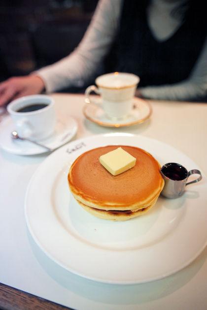スマート珈琲店:ホットケーキ