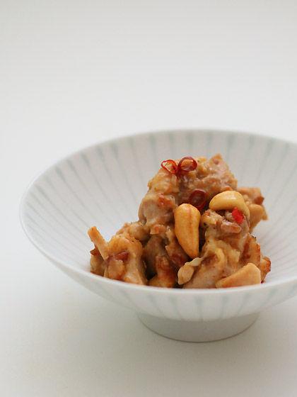 平茶わん(S-1):鶏肉のカシューナッツ炒め