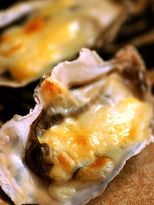 牡蛎のマヨチーズ焼き