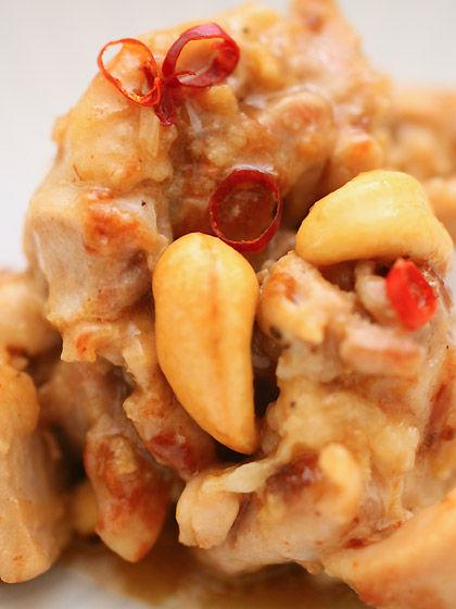 鶏肉のカシューナッツ炒め(アップ)