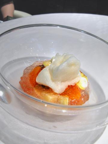 ランベリー:桃と杏のコンポート