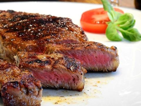 ステーキを食べに行きたいんや