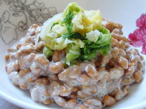 納豆って美味しいと思って食っ