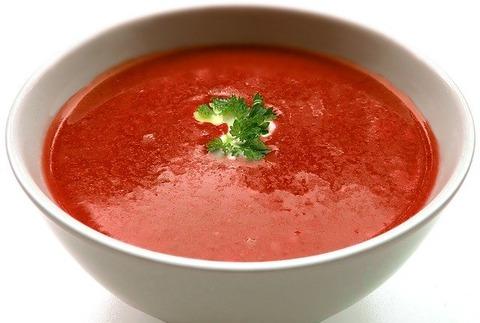 欧米だとスープはコースの最初なのに、