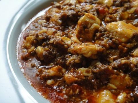 消費期限が5月13日の肉で麻婆豆腐作