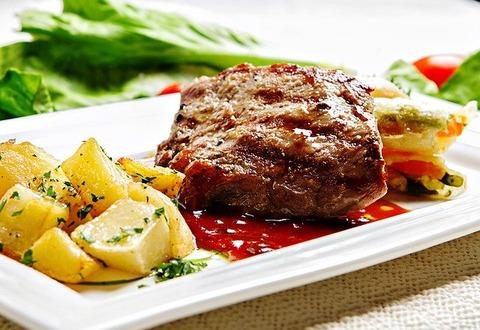 肉「美味いです力つきます 」