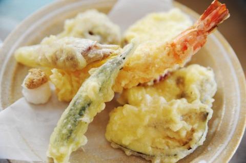 三大天ぷら「鱈の目」「紅生姜」