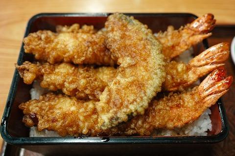 天丼に一個要らない天ぷら