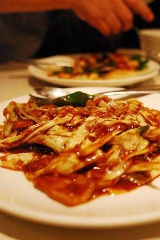 中華料理食べて