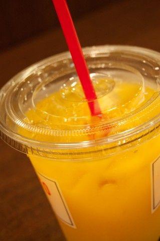 オレンジジュース飲んでたら馬鹿にさ