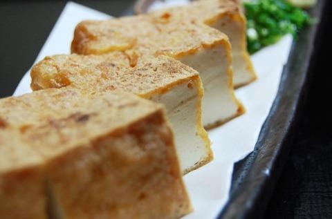 麻婆豆腐の豆腐を厚揚げに変えたら