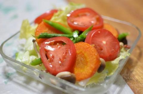 でかいタッパーレベルの野菜をほぼ毎日