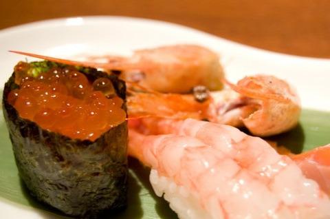 寿司屋で頼むメニュー