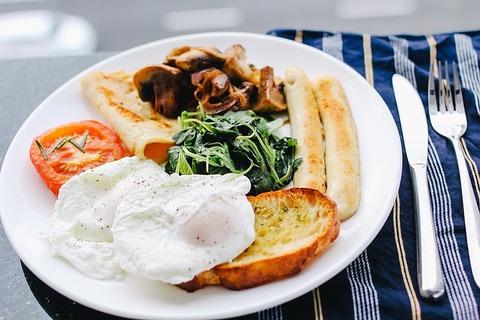 朝ご飯何食べた
