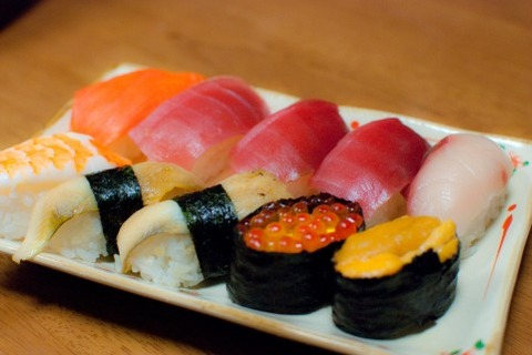 友達と寿司食いに行った