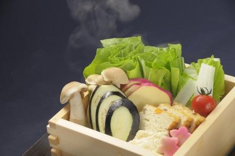 野菜の楽で美味しい食べ