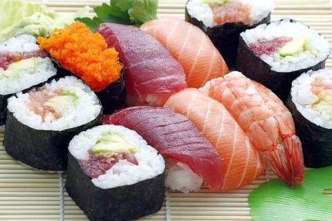 寿司屋でジャンキーなネタ