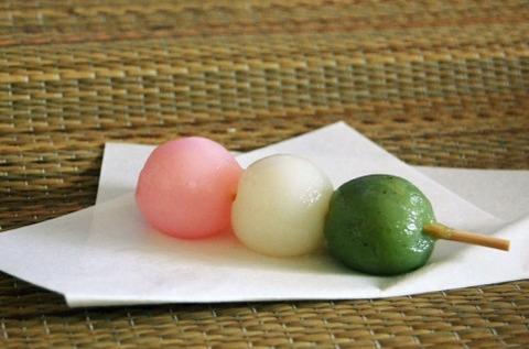 3色だんごってガチで