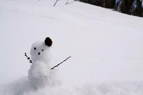 【朗報】極貧ワイ、雪を食って飢