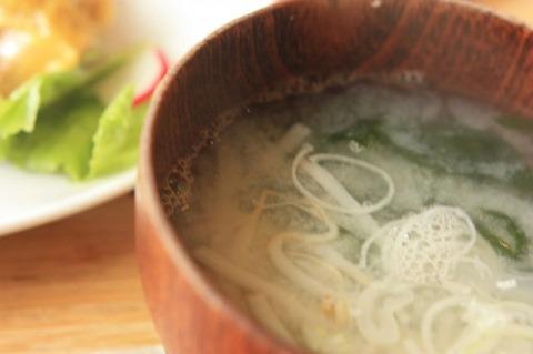 【食】お味噌汁で「許せない」