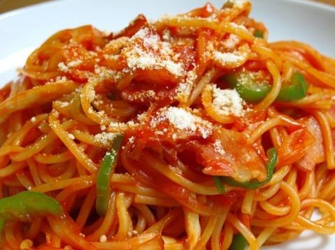 スパゲティーの味が薄い