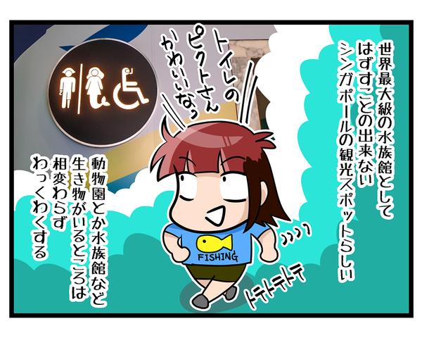 海外旅行SINGAPORE★水族館02