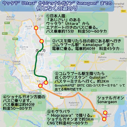 ショナルガオンMAP