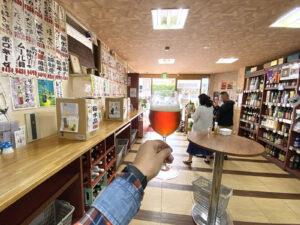 福岡・大名の角打ちができる酒屋「小谷酒舗」でソースカツ&クラフトビール