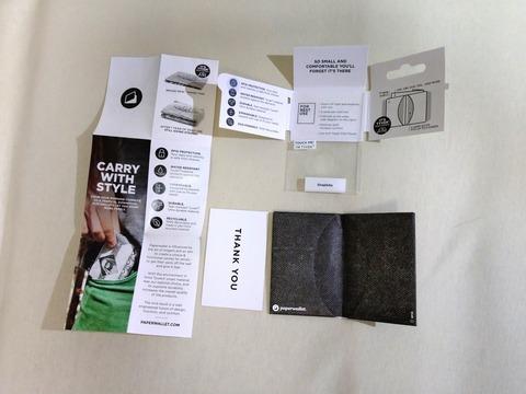 Micro Wallet 内容物