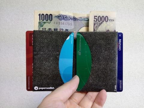 Micro Wallet 収納