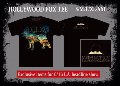 hollywood fox tee