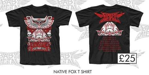native fox tee