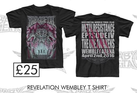 wembley revelation tee