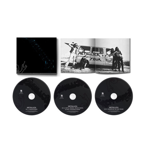 METALLICA (THE BLACK ALBUM) REMASTERED - 3-CD EXPANDED EDITION