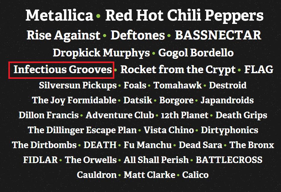 メタリカニュース      ロバート・トゥルージロ、Orion Music + More 2013で古巣のインフェクシャス・グルーヴスとしてでます    コメントトラックバック                メタ地獄