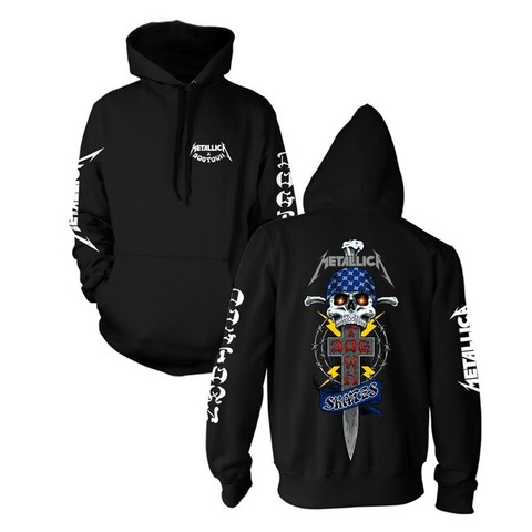 Metallica x Dogtown Hooded Sweatshirt - Medium