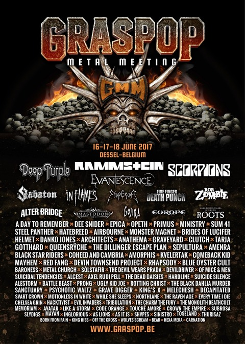 graspop metal meeting 2017