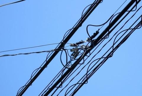 NURO光 光ケーブル(黒いケーブル)