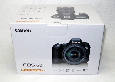 EOS6D EF24-105F4L Kit