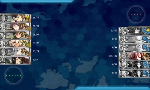 2014年春艦これイベント E5クリア