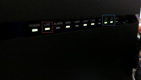 HGW(HG8045D)LINEランプ点灯