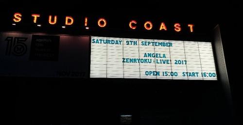 夜のライブ!