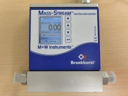 MASS-STREAM前面ディスプレイから流量設定できない場合の設定変更(その3)